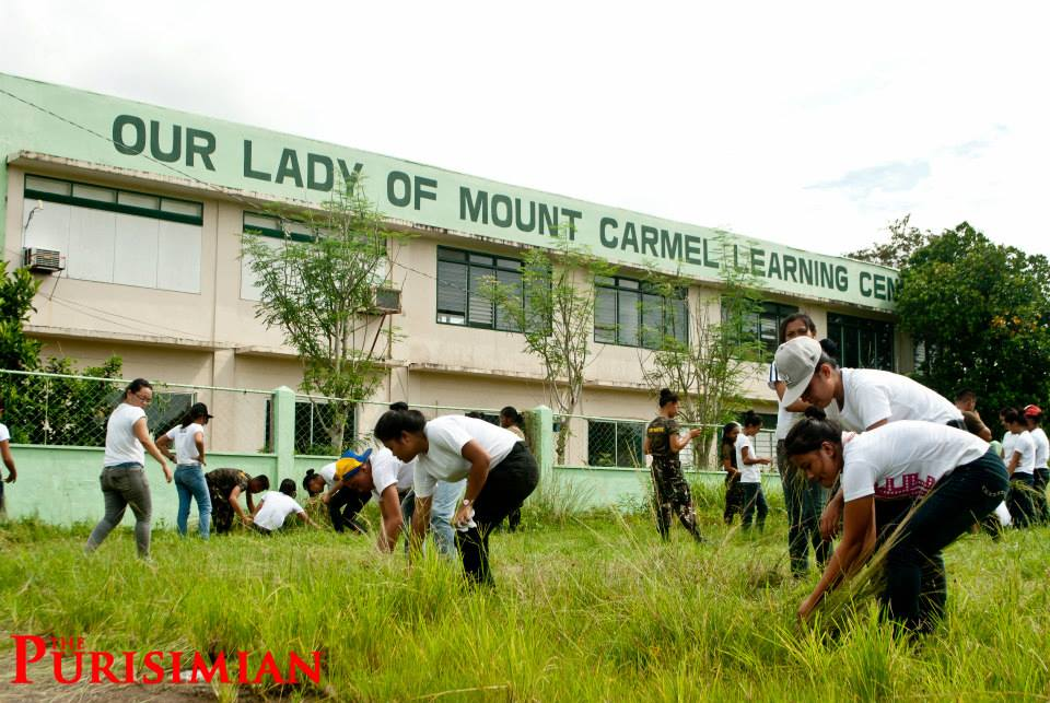 ROTC Army initiates clean-up drive at Kalipayan Campus