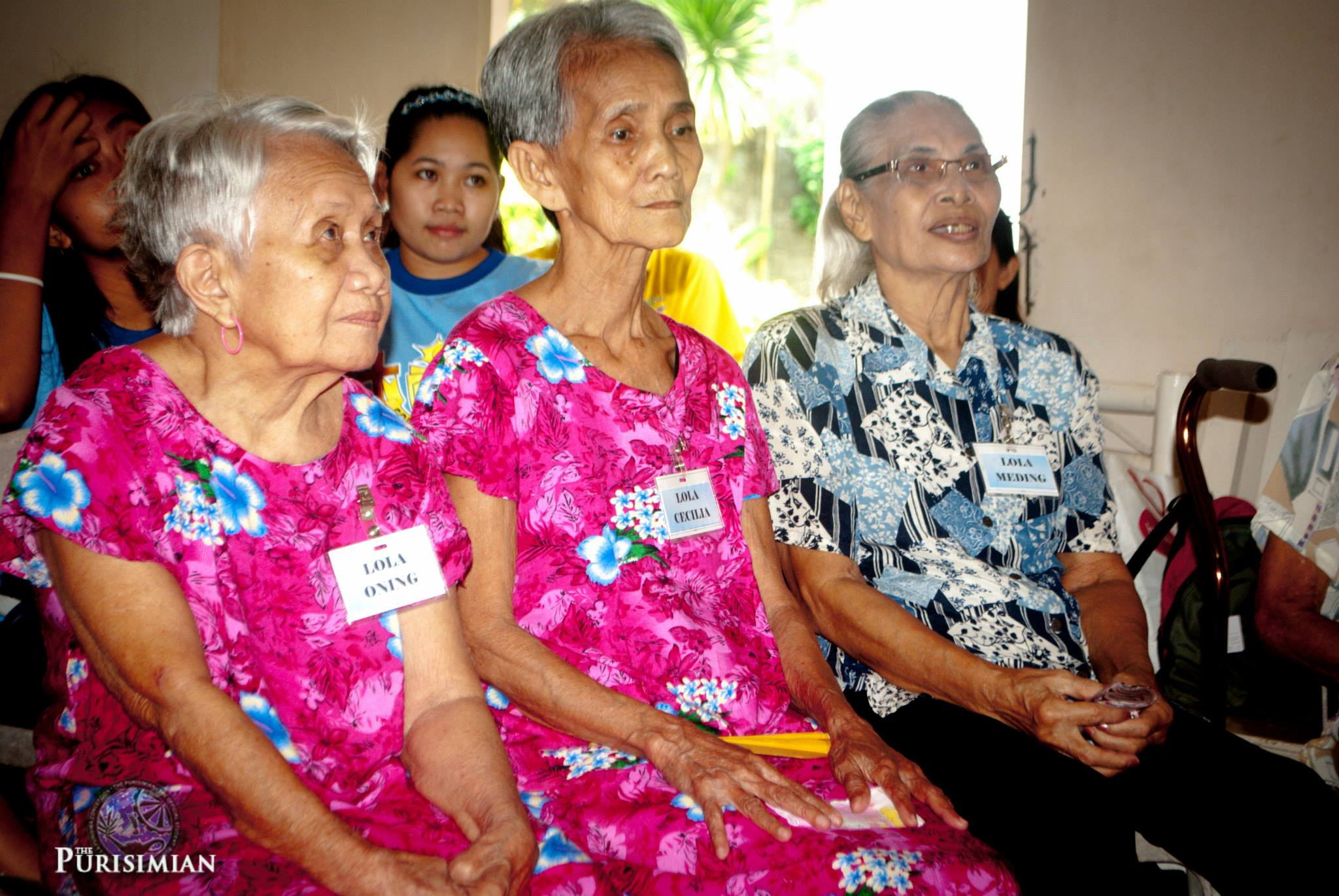 KAMFIL, sa Home for the Aged dumulong